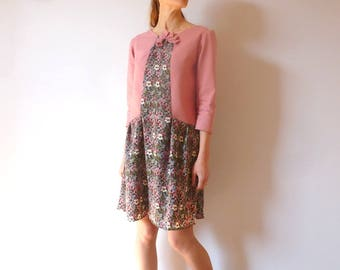 Hand-made flowery dress