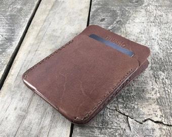 Thin Kangaroo Leather Wallet, Slim Leather Wallet, Personalised Leather Wallet, Minimalist Leather Wallet, Thin Leather Wallet, Gift for Him