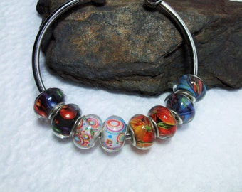 20 Gorgeous Lampwork Beads In 4 Designs
