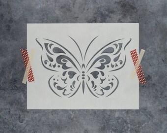 Butterfly Stencil - Reusable DIY Craft Stencils of a Butterfly