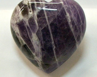 Heart in 40mm Amethyst Stone