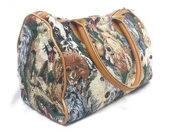 All The Doggo's Tapestry Purse
