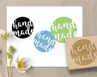 Handmade Stamp, Hand Made Stamp, DIY Packaging Stamp, Labeling Stamp, Business Stamp, Hand Crafted Stamp, Rubber Stamp 077