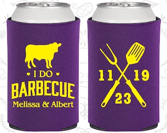Purple Wedding, Purple Can Coolers, Purple Wedding Favors, Purple Wedding Gift, Purple Wedding Decorations (33)