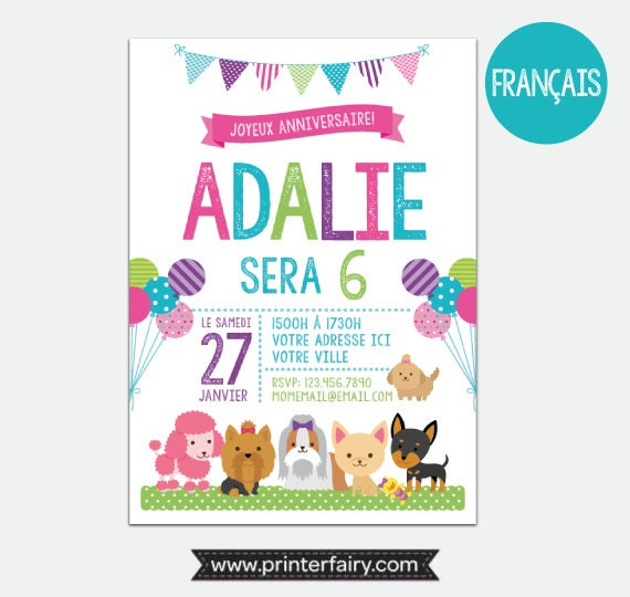 French puppies and kitties invitation pet adoption party puppy french puppies and kitties invitation pet adoption party puppy birthday party kitty adoption personalized digital invitation 2 options stopboris Gallery