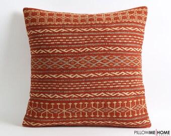 Striped kilim pillow cover 20x20, throw pillow, pillow cover, moroccan pillows, decorative pillows, decorative pillow, moroccan cushion