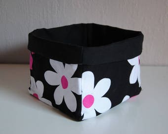 Tidy / reversible storage basket
