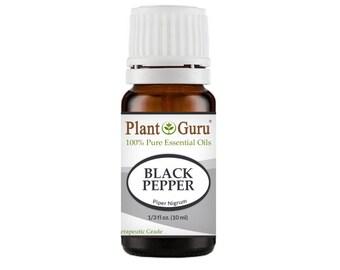 Black Pepper Essential Oil  100% Pure, Undiluted, Therapeutic Grade.
