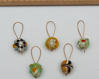 Stitch markers for knitting