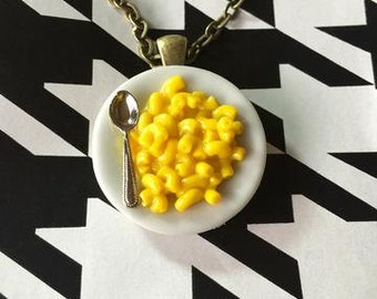 Mac n' Cheese Necklace