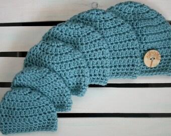 Crochet Preemie Hat (Sizes 24 weeks to 40 weeks)