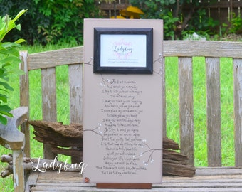 As I sit in Heaven and watch you every day....Customize your own frame by Ladybug Design by Eu