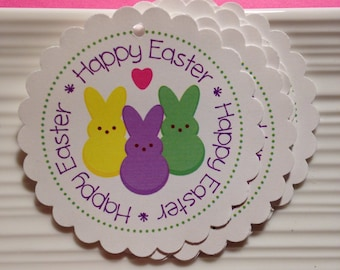 Happy Easter / Easter / Favor / Gift Tags / set of 6