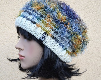Crazy Beanie knit Cap slouch