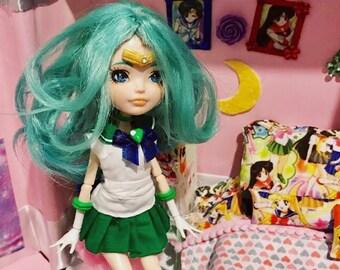 20% OFF Sailor Neptune custom doll From anime Sailor Moon Eah