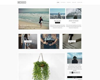 Andria / WordPress Theme / WordPress Blog / WordPress Template /  WordPress Blog Theme / Blog / Blog Theme / WordPress / Minimal WordPress
