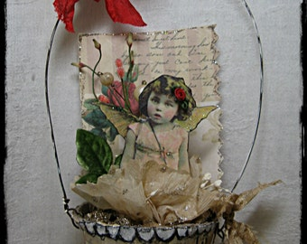 Instant download Tutorial Peet Pot Pixies ornaments fairy angel