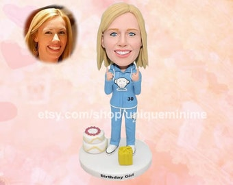 Bobblehead dolls - Custom Bobblehead dolls, custom gift,funny gift, custom,funny Bobblehead dolls,customizable doll,customized gifts for her