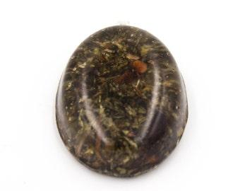Anuket Eqyptian Goddess Herb in Resin Pendant Anuket Necklace Large Oval