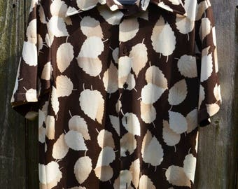 Men's shirt // Vintage Shirt // Sears 70's Dress Shirt