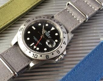Canvas strap - 20 mm watch strap