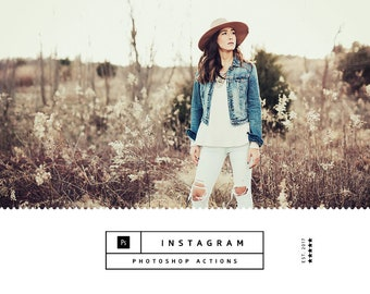 Instagram Photoshop Actions