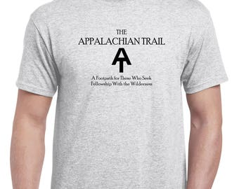 Appalachian Trail Tee  Free Shipping