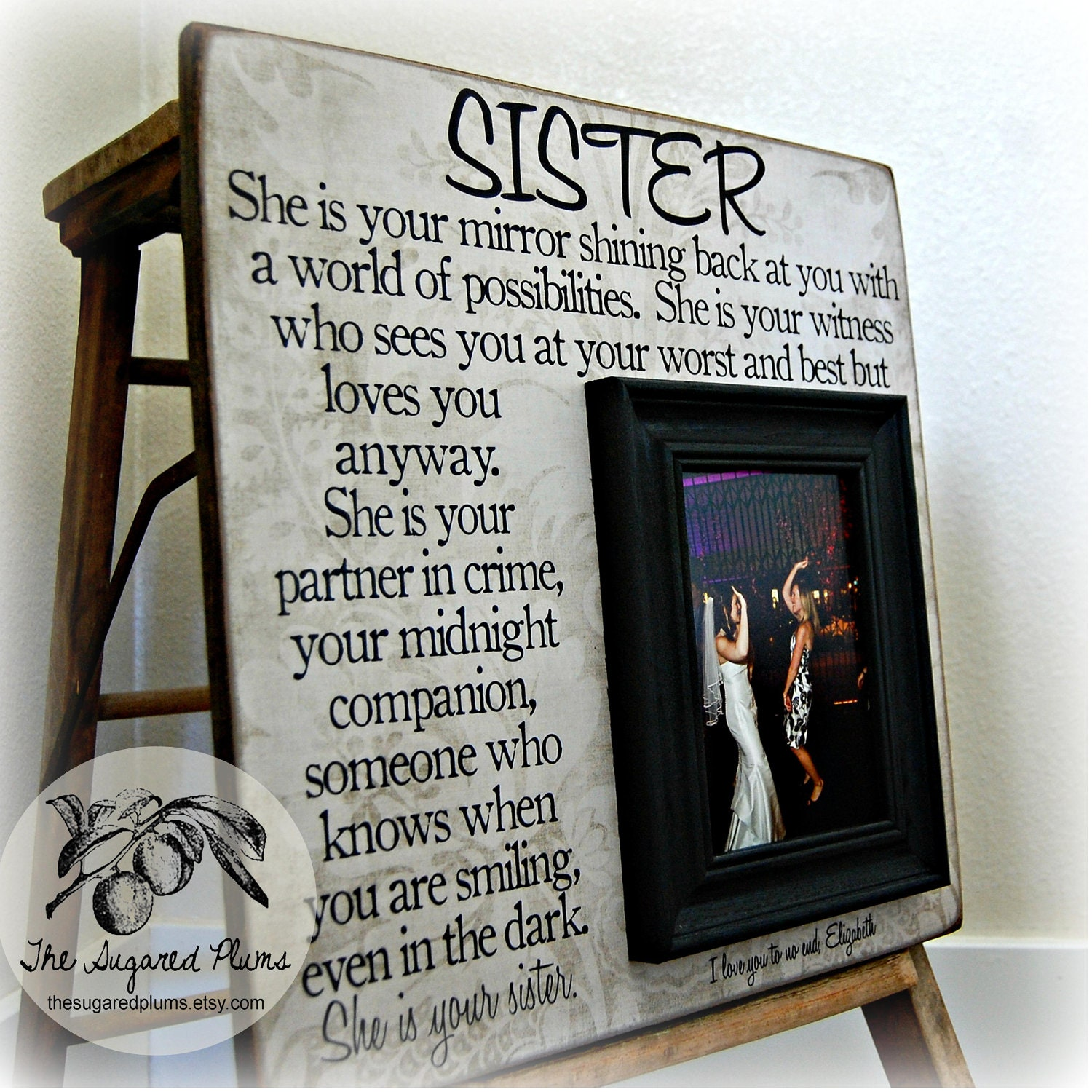 Exelent Best Friend Personalized Picture Frames Sketch - Picture ...