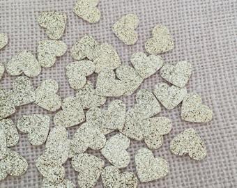 Gold Glitter Heart Confetti, Wedding Confetti, Bridal Shower, Baby Shower,Gold Wedding Decor,Gold Glitter Heart,Table Decor, Party Confetti