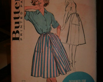 Butterick 9347 Printed Pattern ~ Size 16 Bust 36 ~ 1950's Misses' Quick 'N Easy Coordinates - Designed For Easy Living