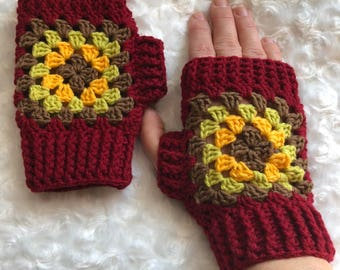 Fingerless Gloves, Crochet Gloves, Fashion Wristers, Women Wristwarmers, Crochet Arm Warmers, Wrist Warmers, Womens Fingerless Gloves, Gift