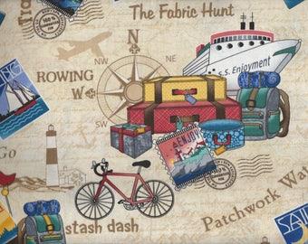 Row By Row Experience 2017 - Timeless Treasures - On the Go!