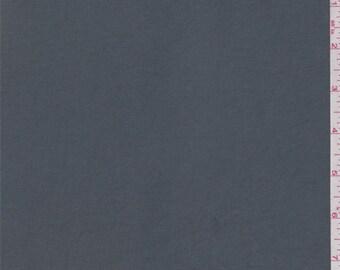 Gunmetal Grey Polyester Shirting, Fabric By The Yard