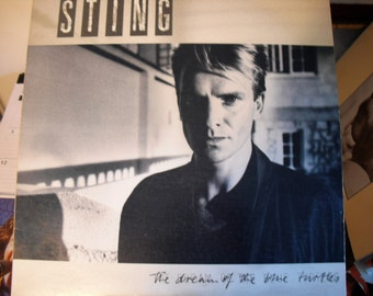 Sting The Dream Of The Blue Turtles On A & M Records1985   Saved For Lon Stetz