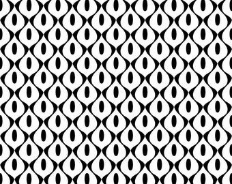 Mod Wallpaper by Riley Blake Designs - C3576 White - Sold by the Yard