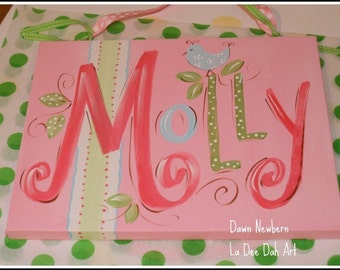 Custom Wall Art Personalized Name Canvas