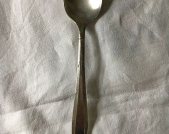 Oneida, Vintage Spoons, Serving Spoons Silverplate Flatware, Vintage Flatware, Oneida Nobility Plate Reverie 1937