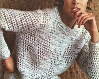 crochet sweater pattern