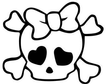 Girl Skull Onesie