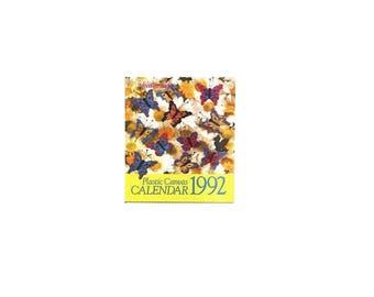 The Needlecraft Shop Plastic canvas Calendar 1992