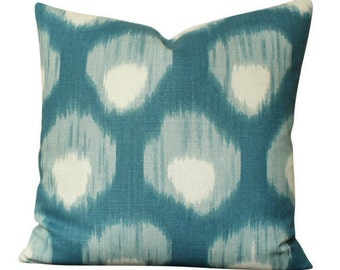 Peter Dunham Bukhara Pillow Cover in Blue