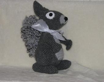 "Steve Squirrel - 11"" tall Stuffed Squirrel"