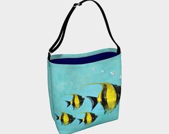 Deep Blue Sea Day Tote Bag