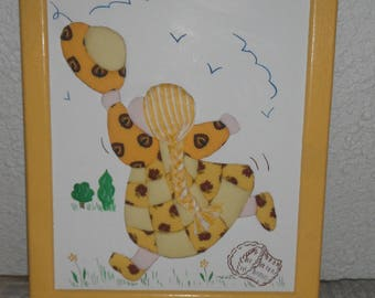 Frame for child pm / pattern fabric
