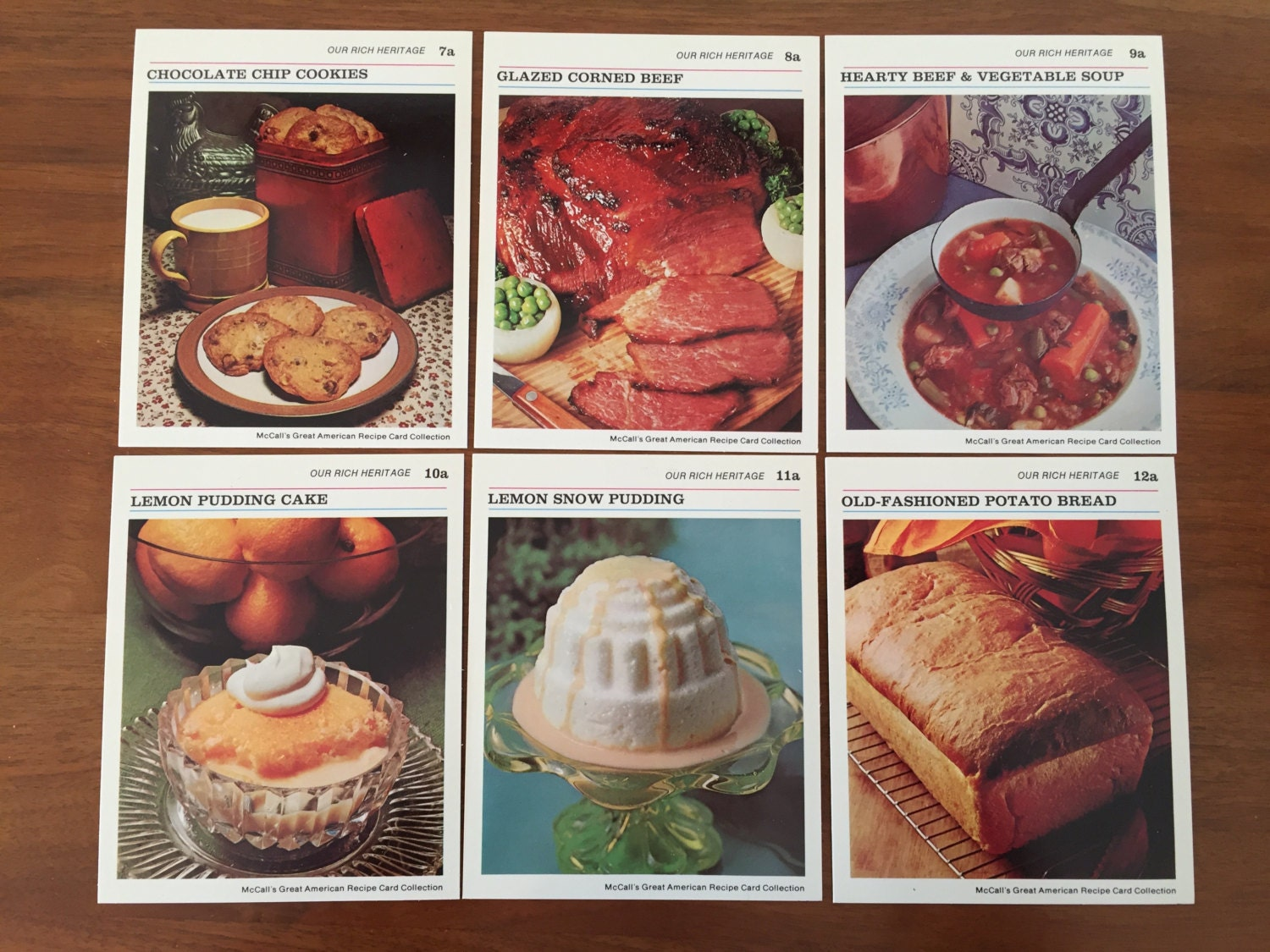 1973 mccalls great american recipe cards our rich heritage ugly get shipping estimate forumfinder