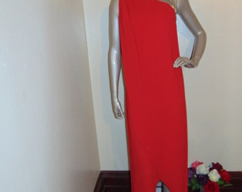 One shoulder Disco Dress