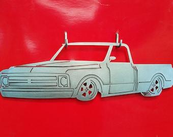 1967 - 1972 Chevy C-10  Metal Art