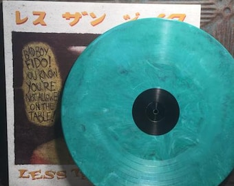 "Rare Less Than Jake 1999 Green Vinyl LP Record Album ""Losers, Kings, and The Things We Don't..."" // colored vinyl record // vintage lp vinyl"