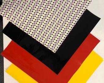 Mouse Dots Disney Inspired Permanent Vinyl Set
