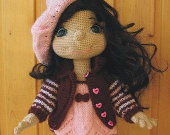 PATTERN: Long legged Doll  crochet pattern